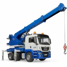 Bruder MAN TGS Crane Truck with Light and Sound Module