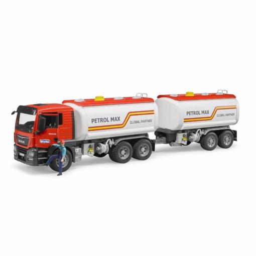 Bruder MAN TGS Petrol Tank Truck and Trailer