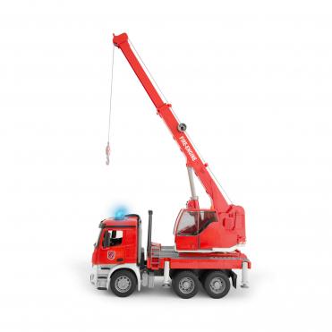 Bruder MB Arocs Fire Engine Crane Truck