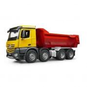 Bruder MB Arocs Half Pipe Dump Truck