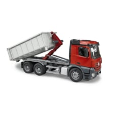 Bruder MB Arocs Truck with Roll Off Container