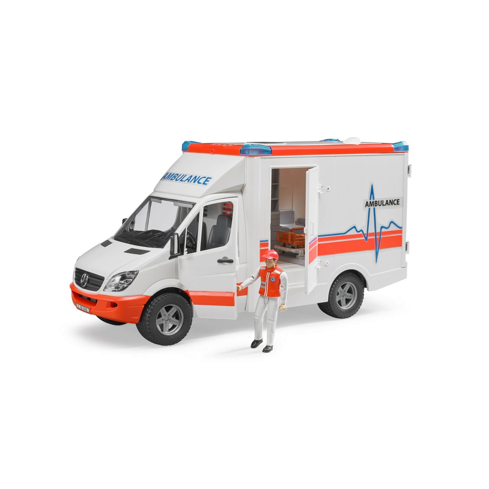 bruder mb sprinter ambulance with driver 02536 jadrem toys. Black Bedroom Furniture Sets. Home Design Ideas