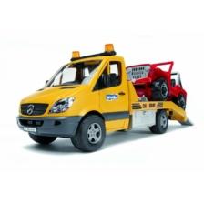 Bruder MB Sprinter Transporter with Vehicle