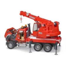 Bruder Mack Granite Crane Truck with Light and Sound