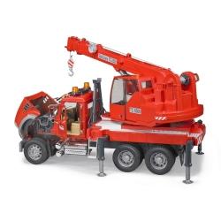 Bruder Mack Granite Crane Truck with Light and Sound