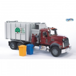 Bruder Mack Granite Side Loading Garbage Truck
