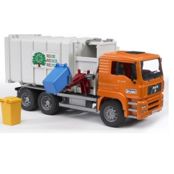 Bruder Man TGA  Side Loading Garbage Truck