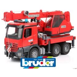 Bruder Mercedes Benz Arocs Crane Truck with Light and Sound