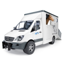 Bruder Mercedes Sprinter Animal Transporter Horse