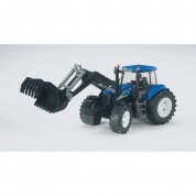 Bruder New Holland TG285 Tractor Frontloaded