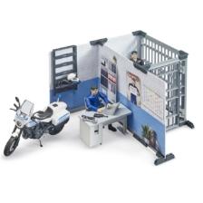 Bruder Police Station with Police Motorbike