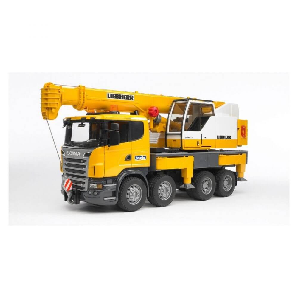 Bruder Scania R Series Liebherr Crane Truck 03570