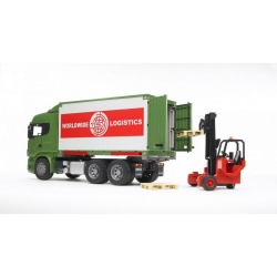 Bruder Scania R Series Truck with Forklift 03580