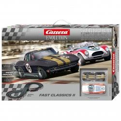 Carrera Evolution Fast Classics II Slot Car Set
