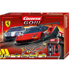 Carrera Go Ferrari High Speed Contest GT2 Slot Car Set