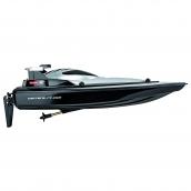 Carrera RC 2.4GhZ Racing Boat Black