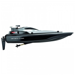 Carrera RC 2.4GhZ Racing Boat Black