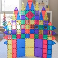 Connetix 100 Piece Set Magnetic Tiles