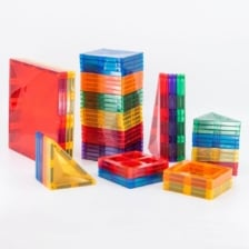 Connetix 62 Piece Set Magnetic Tiles