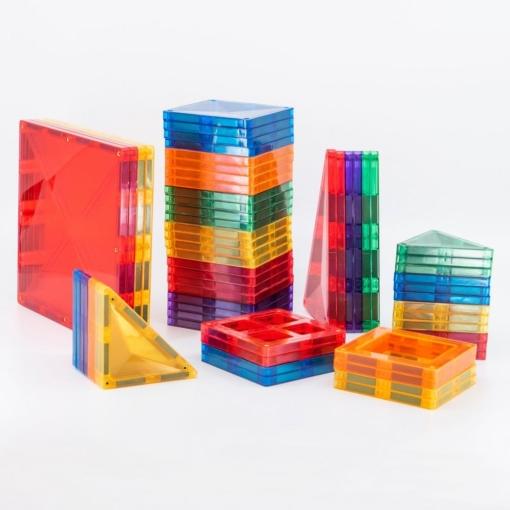 Connetix 62 Piece Set Magnetic Tiles
