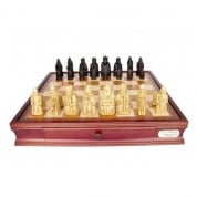 Dal Rossi Isle of Lewis Chess Set on 50cm Chess Box