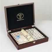 Dal Rossi Mahjong Set in Mahogany Finish Case