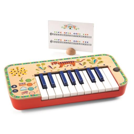 Djeco Animambo Music Synthesizer Keyboard