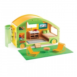 Djeco Caravan Dolls House