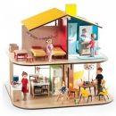 Djeco Colour House Dolls House Scale 1:16