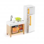 Djeco Compact Kitchen Dolls House Furniture