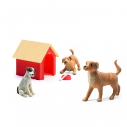 Djeco Dolls House Dogs