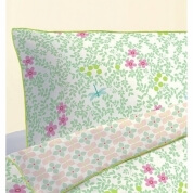 Djeco Flowers Single Quilt Cover and Pillow Cover