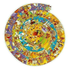 Djeco Observation Puzzle History 350 Piece