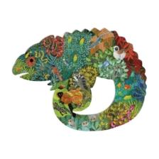 Djeco Puzzle Art Chameleon 150 Pieces