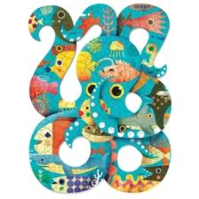 Djeco Puzzle Art Octopus 350 Pieces