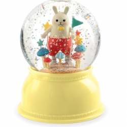 Djeco Snow Globe Night Light Small Rabbit