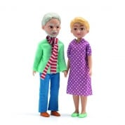 Djeco The Grandparents Dolls for Dolls House