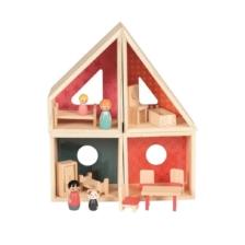 Egmont Wooden Dolls House Furnished