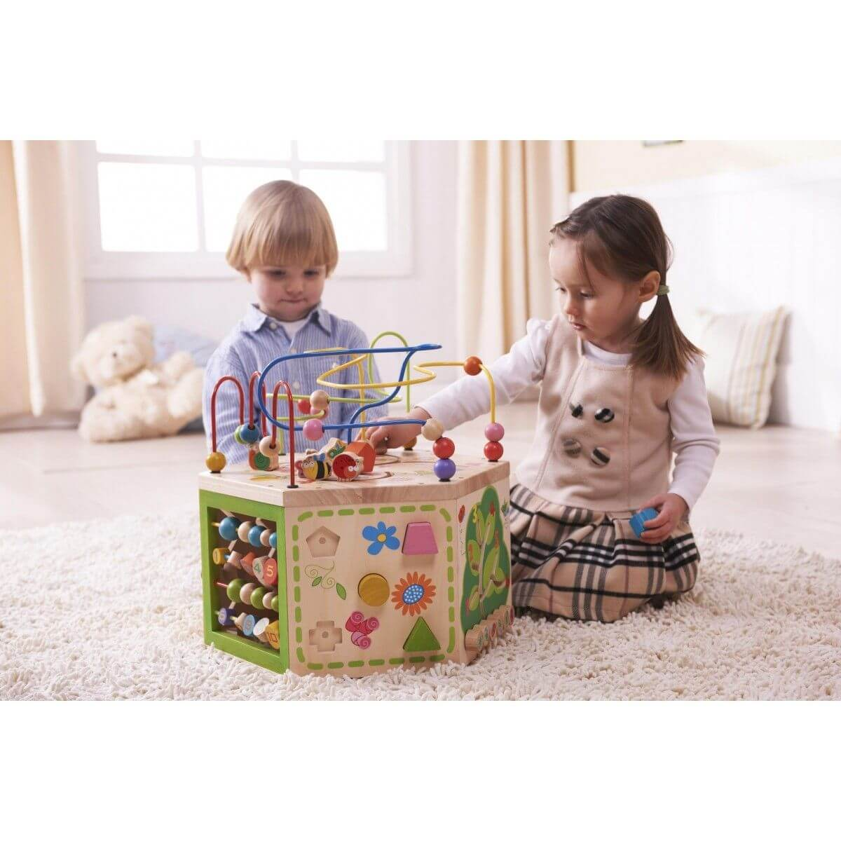 Everearth 7 In 1 Garden Activity Cube Jadrem Toys
