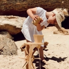 Explore Nook Wooden Water Wheel