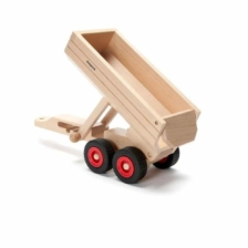 Fagus Wooden Container Tipping Trailer