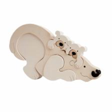 Fauna Toys Polar Bear Puzzle
