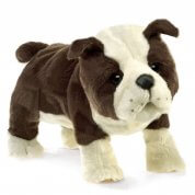 Folkmanis English Bulldog Puppy