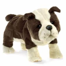 Folkmanis English Bulldog Puppy