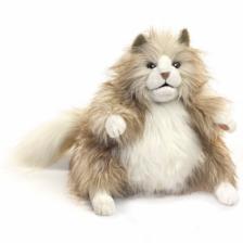 Folkmanis Fluffy Cat Hand Puppet