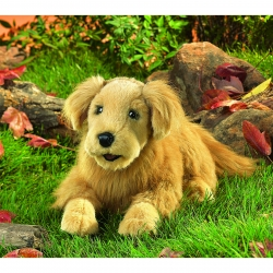 Folkmanis Golden Retriever Puppet