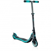 Globber 2 Wheel MY TOO FIX UP Scooter Titanium Blue Neon