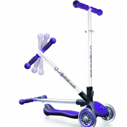 Globber 3 Wheel Scooter My Free Fold Up Purple