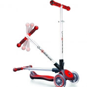 Globber 3 Wheel Scooter My Free Fold Up Red