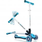 Globber 3 Wheel Scooter My Free Fold Up Sky Blue